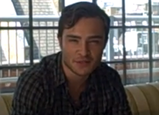 Ed Westwick Is Decidedly Not Chuck Bass