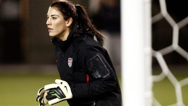 hope solo leaked photos № 182381