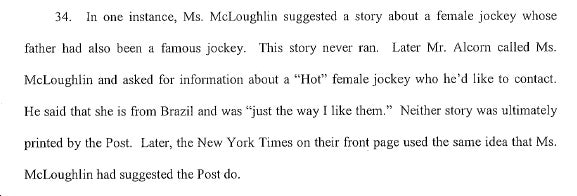 New York Post Sued For Sexism: Hot 'Harem' Allegations Abound (Updated)