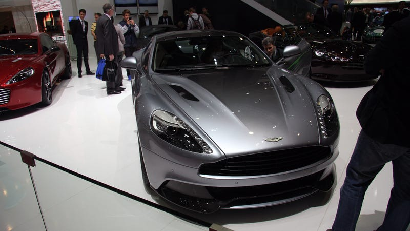 Silver Is The Only Metal Good Enough For This Aston Martin