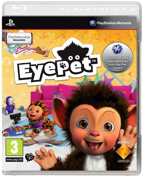 Why Does The EyePet Box Art Look Different From Other PS3 Games?