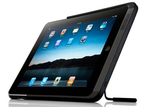 PowerBack: An iPad Battery Case and Kickstand and Dock, Oh My