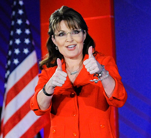 Sarah Palin's Speaking Contract: Bendy Straws, Lear Jets and Deluxe Hotels