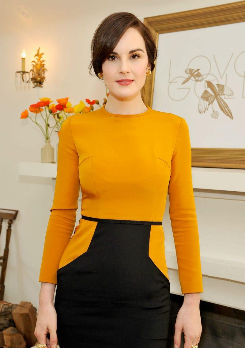 Let's All Pretend We're Michelle Dockery Going Out To Lunch Like This