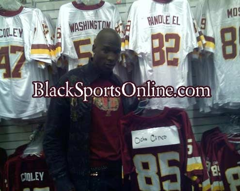 Chad Johnson Might Want To Play For The Redskins