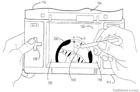 Nintendo DSi Patent Will Have Us All Using A Virtual Steering Wheel In Racing Games