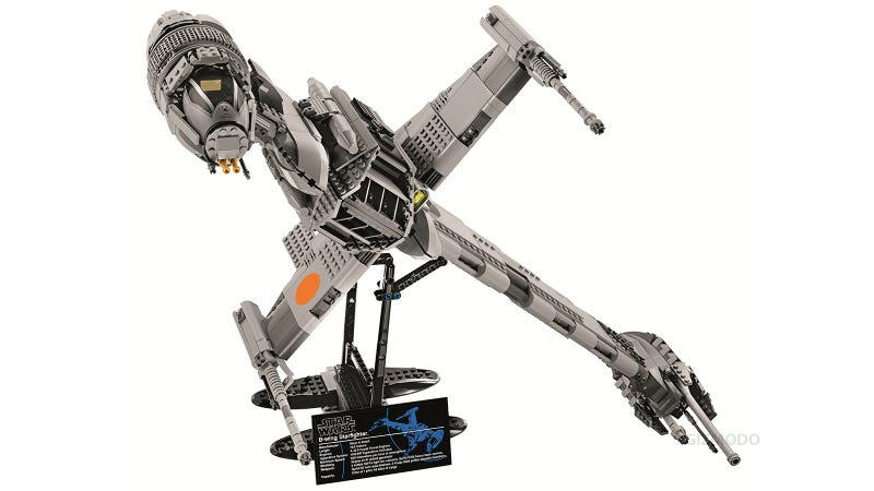 1,486-Piece B-Wing Is the Most Amazing Lego Set In a Very Long Long Time