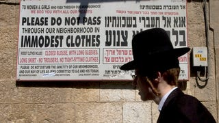 Israeli Women Continue to Fight Against 'Modesty' Signs
