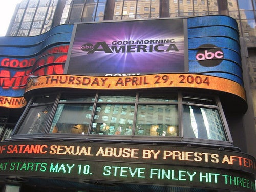 ABC Considering Admitting the Obvious: Good Morning America Isn't a News Show