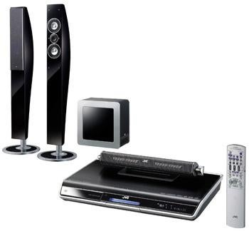 JVC's Sophisti Speakers Upscale DVDs and Pack Wi-Fi