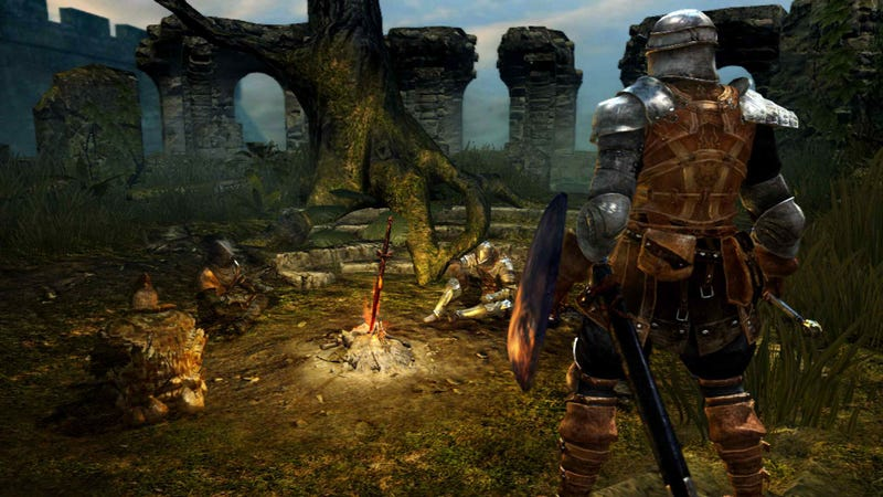 A New Look At Dark Souls Proves Wolves, Made Giant, Are Fucking Cool