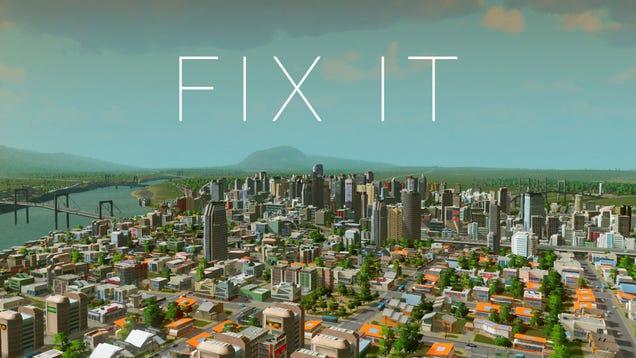 Cities Skylines Manually Building Mod