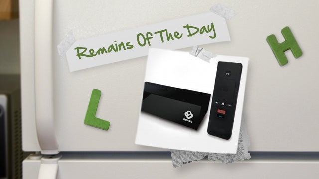 Remains of the Day: Boxee TV Now Available for Purchase