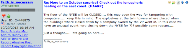How the Gays, Obama, and HAARP Caused Hurricane Sandy: the Web's Best Frankenstorm Conspiracy Theories