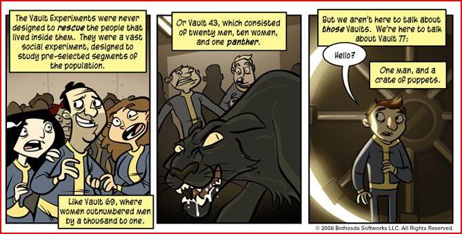 Penny Arcade Releases Fallout Comics