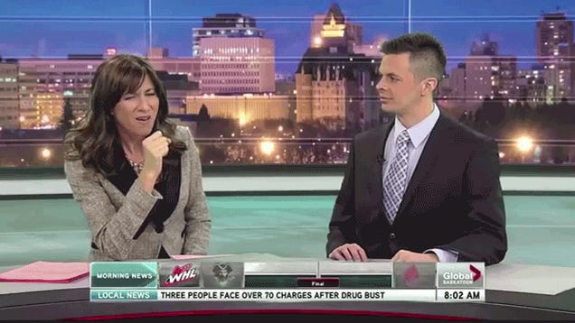 Watch local news broadcasts hilariously screw up in this blooper reel