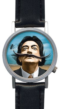 Salvador Dali Watch Persists in Our Memory