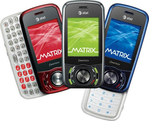 Pantech Matrix Dual Sliding Phone Has More Buttons Than Sense
