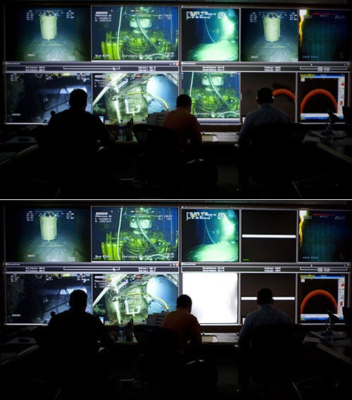BP's Photoshopped 'Command Center' Picture