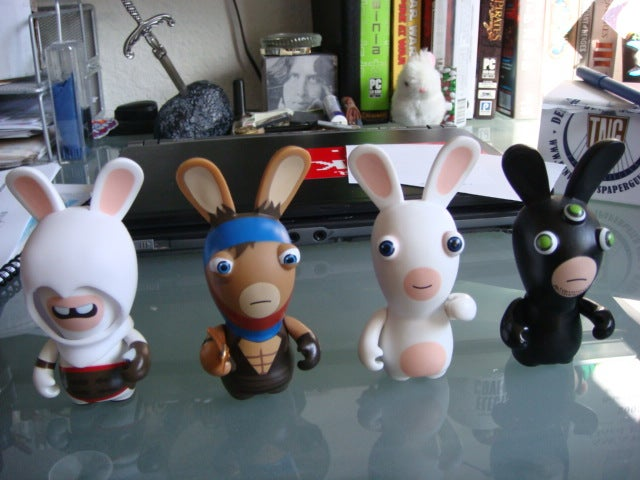 Raving Prince, Assassin and Fischer Rabbids