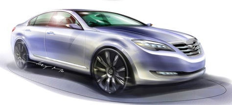 Man, It's Been a Long Time Since the Excel Hatchback: Hyundai Concept Genesis Coming to New York
