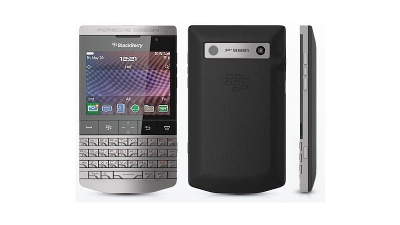 The First Interesting Looking BlackBerry Isn't Even Made by RIM