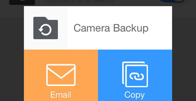how to get dropbox to upload two camera folders