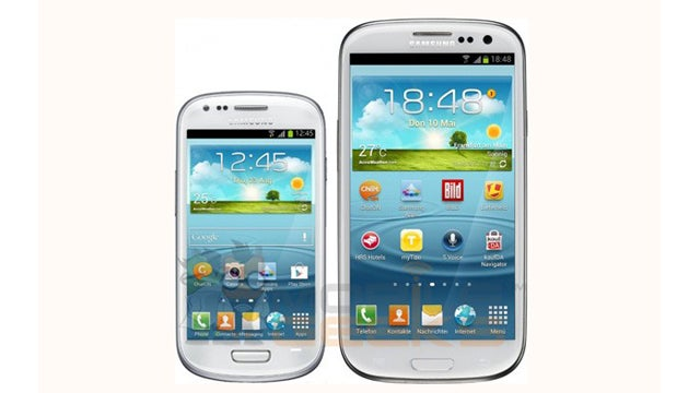 Samsung's Galaxy S III Mini Might Have Shrunken Specs, Too