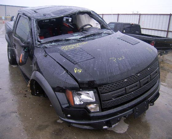 First Ford SVT Raptor Wrecked In Suspension-Ripping Rollover