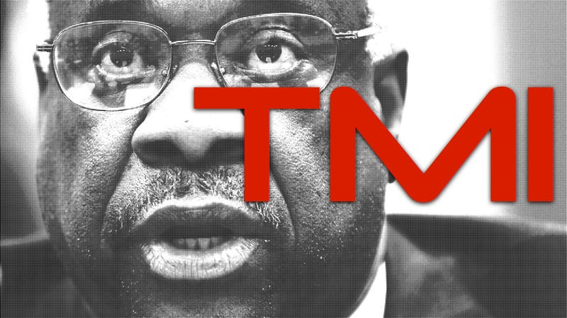 What We Don't Need To Know About Clarence Thomas's Dick