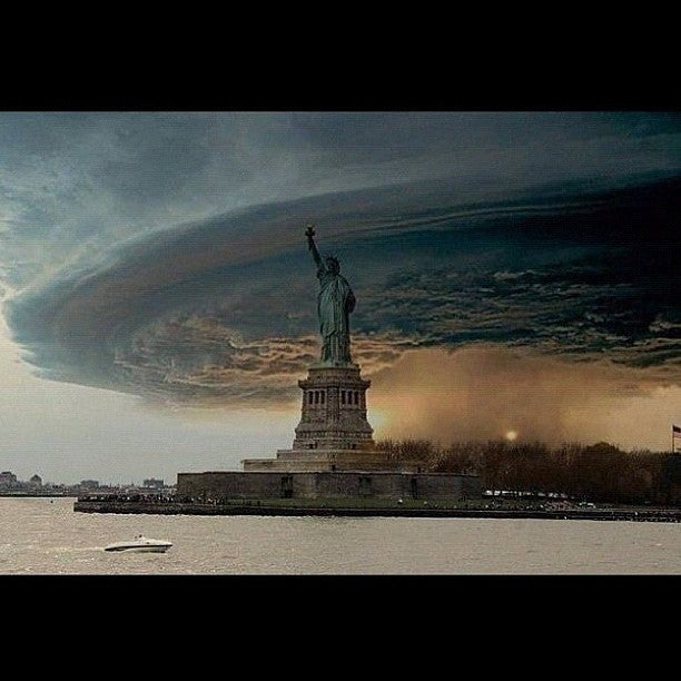 The best fake photos of Frankenstorm to freak people out on Instagram and Facebook