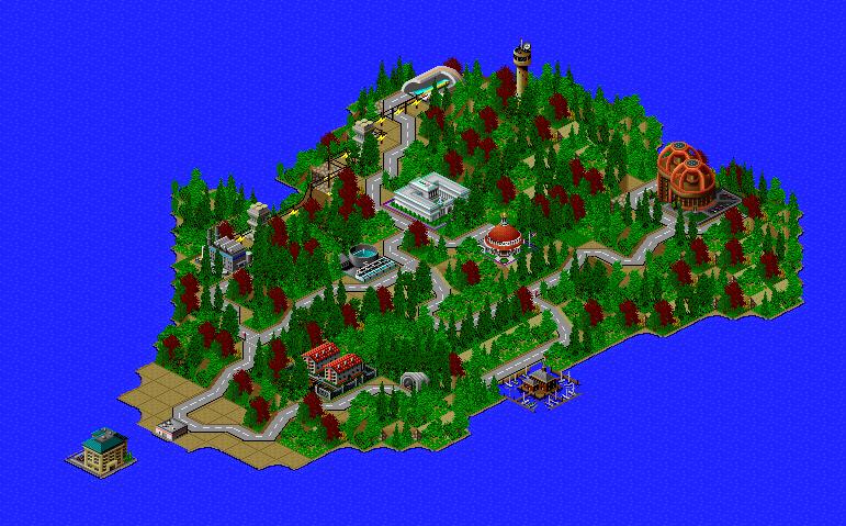 MystIsland Built In Sim City