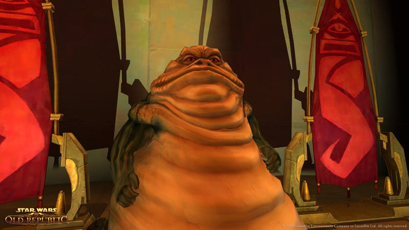 Star Wars: The Old Republic Takes On The Hutt Home World