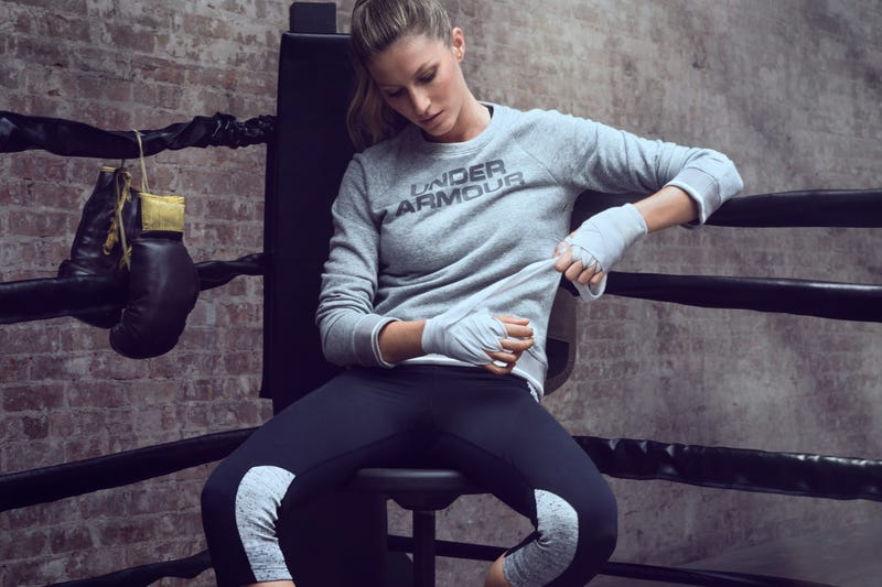 Gisele Fights Haters of Her Under Armour Ads in Her Under Armour Ad