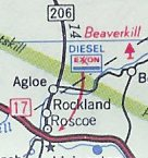 Why did this non-existent town show up on maps of New York?