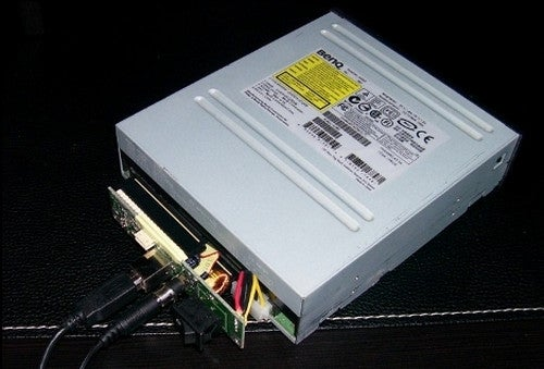 Gut an Old USB HDD Enclosure to Make an External DVD Drive