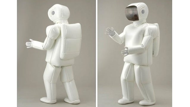 Stumble Around Like One of Those Dumb Helper Bots With the ASIMO Costume