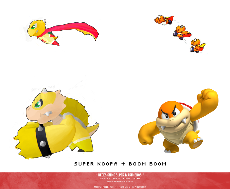 Redesigning Super Mario Bros 9 Bowser Jr And The Koopalings