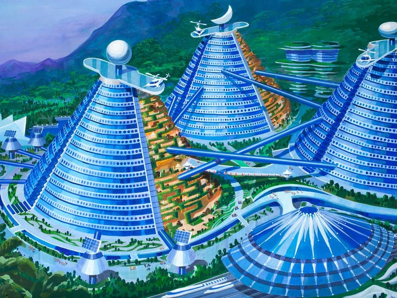 How North Korean Architects Imagine the Future of Cities