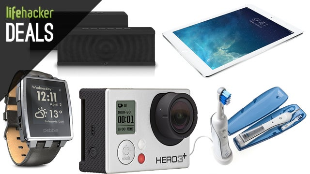 Deals: GoPro Silver, A Less-Ugly Smart Watch, Up To $150 Off iPad Air