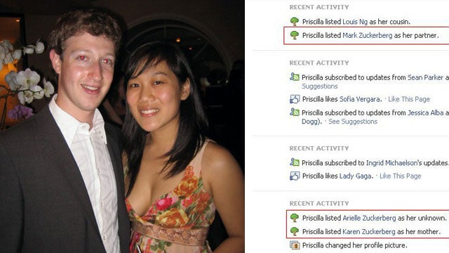 Mark Zuckerberg's Girlfriend Just Near-Married Him