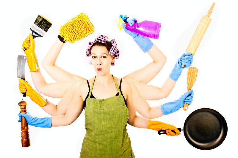 How Much Irrational Anger Will Result From This Study Linking Women, Housework, and Physical Fitness?