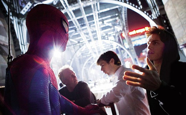 New Amazing Spider-Man Stunt Set Photos and Viral Images