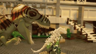 It took $100,000 worth of Lego to recreate <i>Jurassic Park</i> with bricks