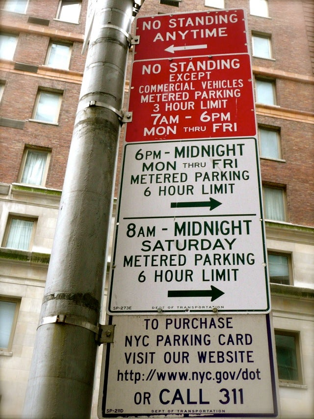 How To Park Your Car In Manhattan
