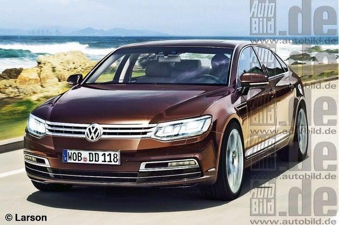 2016 VW Phaeton? (Rendered)
