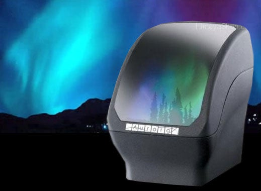 Battery-Powered Aurora Light Projector Simulates Northern Lights, an Iffy Proposition