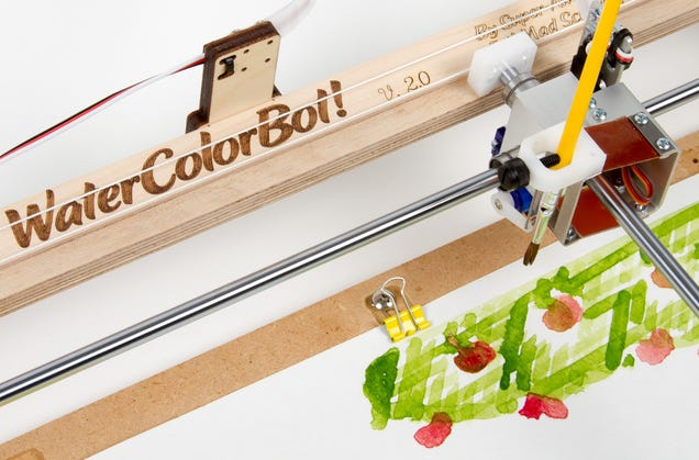 This Watercolor Bot Will Make a Painter Out of Anyone