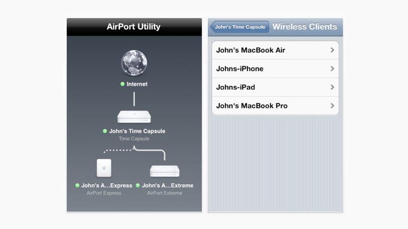 Another Bonus iOS 5 App: Airport Utility