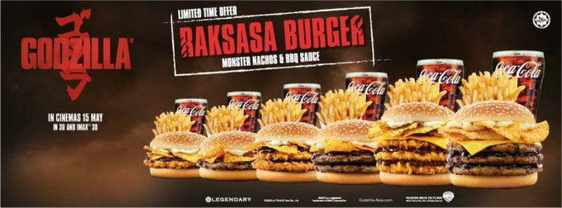 Burger King Malaysia is Releasing Monster Nacho Burgers